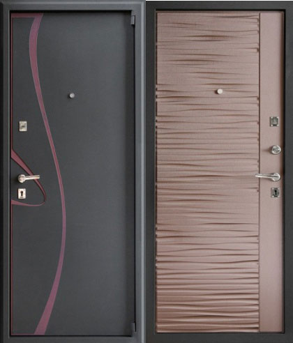 сколько стоит решетчатая металлическая дверь