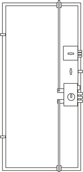 дверь Торэкс Омега схема 2